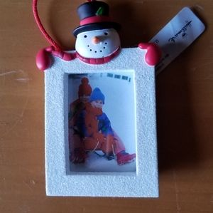 Hallmark Snowman Photo Frame